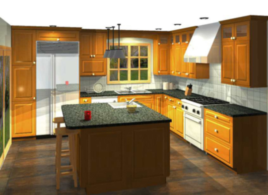 kitchen remodel project template