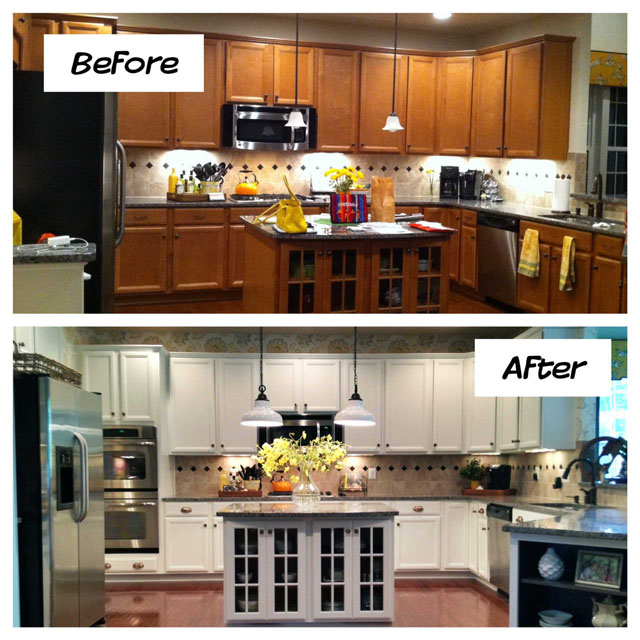 Remodeling A Small Kitchen Before And After remodel small kitchen before and after | kitchen art&comfort