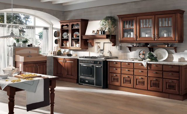 Remodeling small kitchen design layouts ideas for Kitchen design 70s