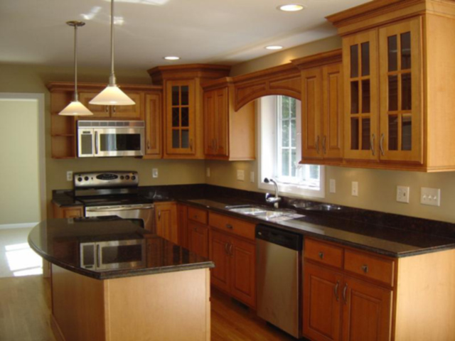How to remodeling ideas for small kitchen upstairs to stay for Custom kitchen remodel