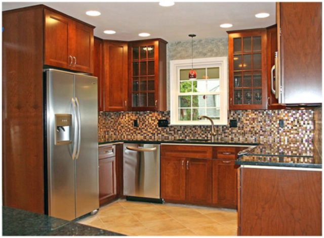 Photo ideas for remodeling small kitchens gallery