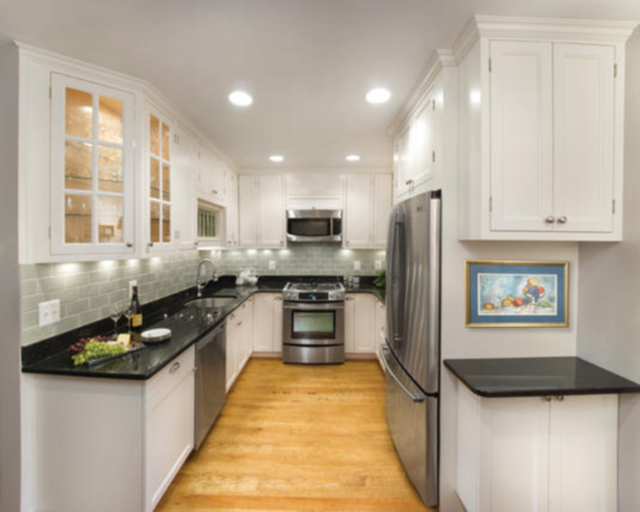 wonderful Kitchen Remodel Ideas For Small Kitchens Galley #6: tiny-galley-kitchen-designs_85