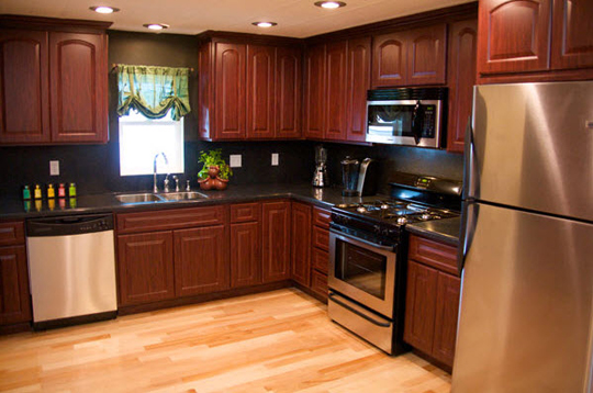 How to remodel your house to look like a mobile home for Old home kitchen remodel
