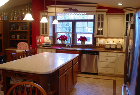 how to remodel your mobile home to look like a house kitchen art