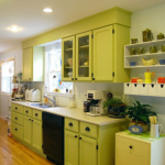 Green kitchen remodel hgtv budget diy